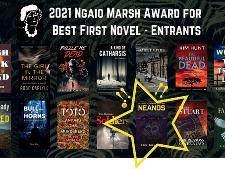 2021 Ngaio Marsh Awards Entrants Announced