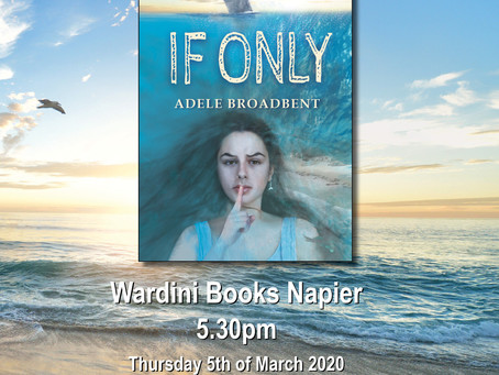 'If Only' by Adele Broadbent will launch during NZ Seaweek