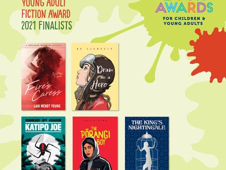 Fire's Caress: NZ Book Awards Finalist