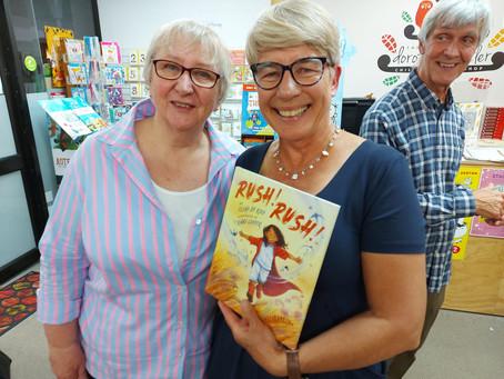 'Rush! Rush!' Book Launch in Auckland