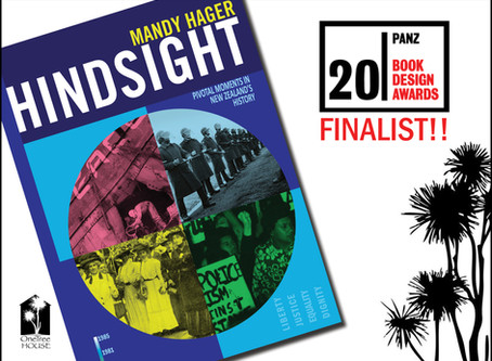 'Hindsight' Finalist in PANZ Book Design Awards