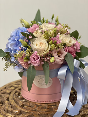 Flower-box/ Blue Pink