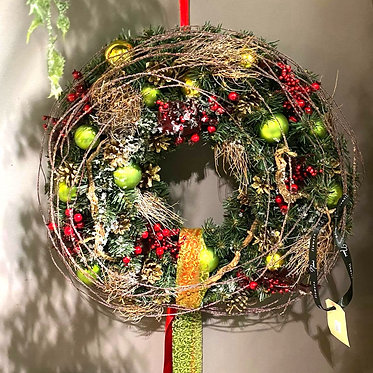 Christmas wreath/ Rich