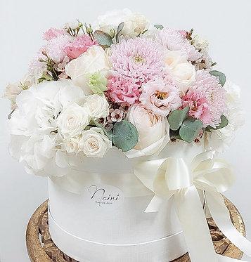 Flower-box XXL/White Love