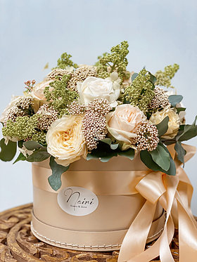 Flower-box/ Cream Love