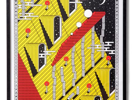 3 Colors print series