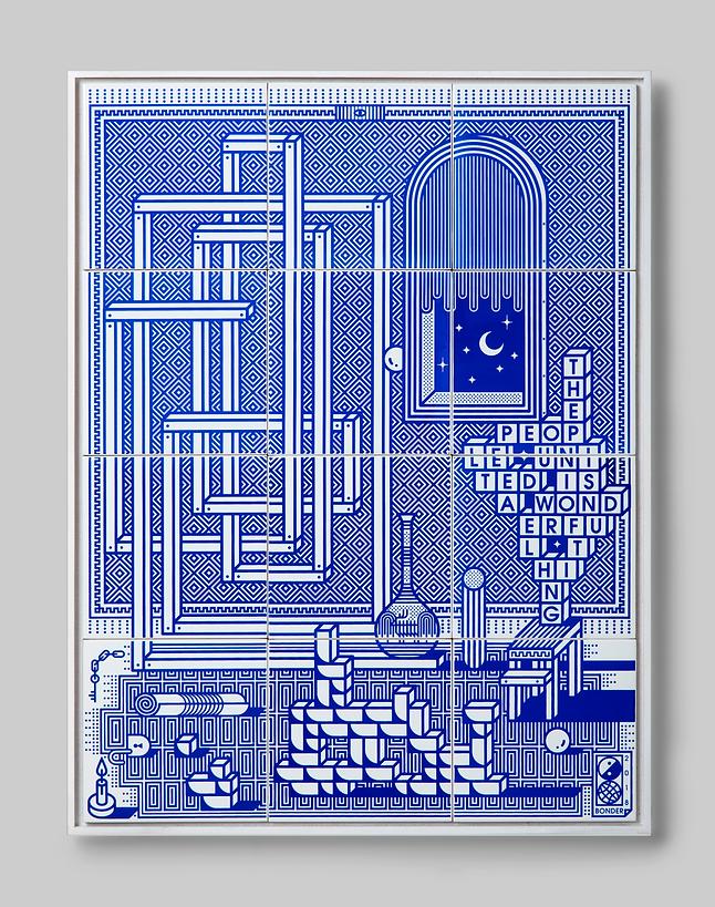 grey_3_'United' Screen printing on ceram