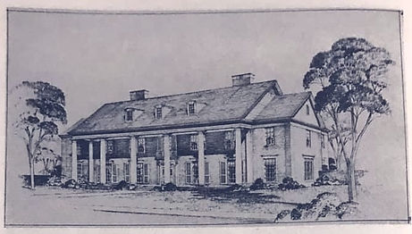 1951 Gamma Phi Beta House at Southern Methodist University