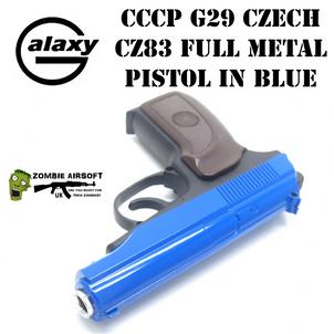 CCCP G29 CZECH CZ83 FULL METAL PISTOL IN