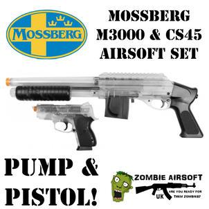 MOSSBERG M3000 & CS45 AIRSOFT SET