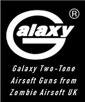 Galaxy Two-Tone Airsoft Guns from Zombie
