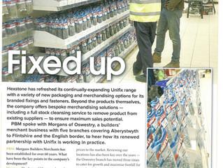 Morgans feature in Builders Merchant Magazines