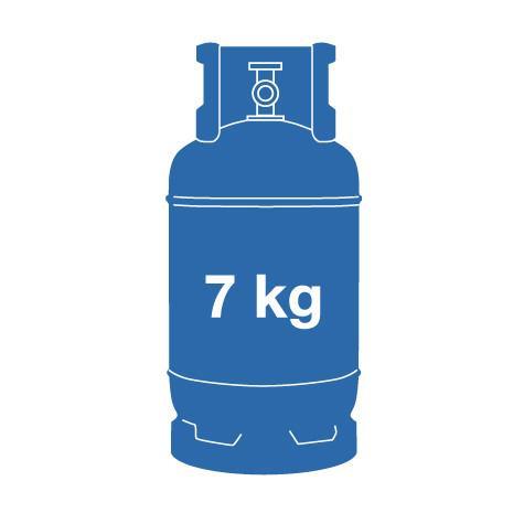 7 kg Butane Gas