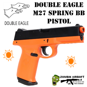 DOUBLE EAGLE M27 AIRSOFT SPRING BB PISTO