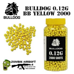 BULLDOG 0.12G BB YELLOW 2000
