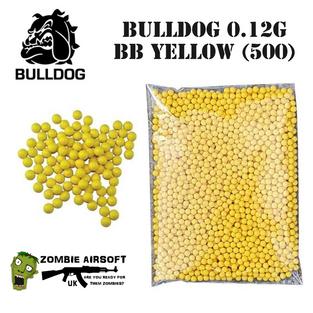 BULLDOG 0.12G BB YELLOW (500)