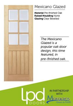 Mexicano Glazed Pre-finished