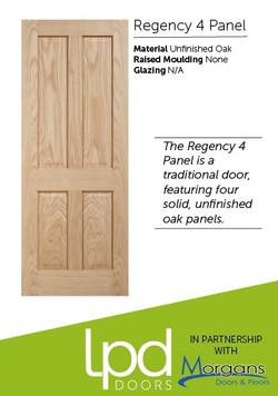 Regency 4 Panel Unfinished