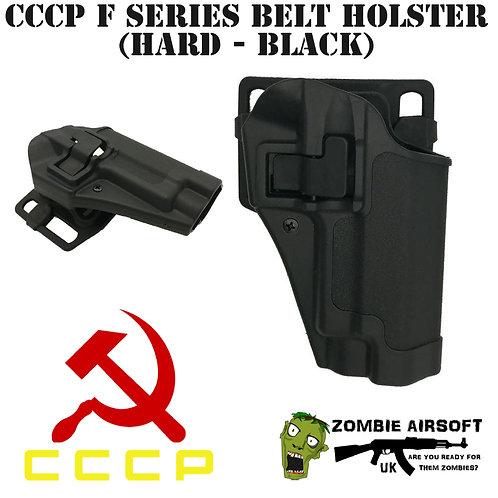 CCCP F SERIES BELT HOLSTER (HARD - BLACK)