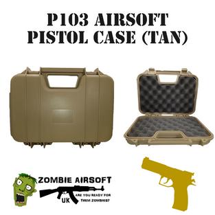 P103 Airsoft Pistol Case (Tan)