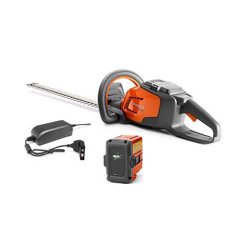 HUSQVARNA 115IHD45 CORDLESS HEDGE TRIMMER WITH BATTERY AND CHARGER