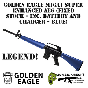 GOLDEN EAGLE M16A1 SUPER ENHANCED AEG (F