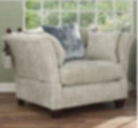 David Gundry Madrid Knole Chair at Warner Furnishings Shrewsbury