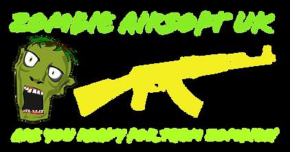 Zombie Airsoft UK Logo
