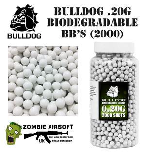 BULLDOG BIODEGRADABLE .20G BB's (2000)