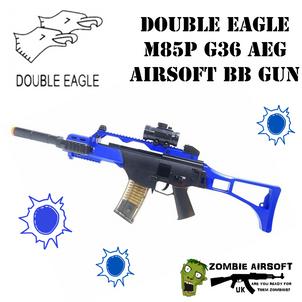DOUBLE EAGLE M85P G36 AEG AIRSOFT BB GUN