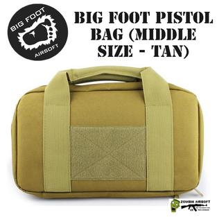 BIG FOOT PISTOL BAG (MIDDLE SIZE - TAN)