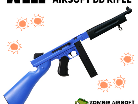 WELL D98 ELECTRIC AIRSOFT BB RIFLE