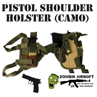 PISTOL SHOULDER HOLSTER D (CAMO)