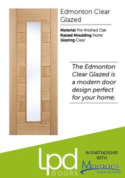 Edmonton Clear Glazed