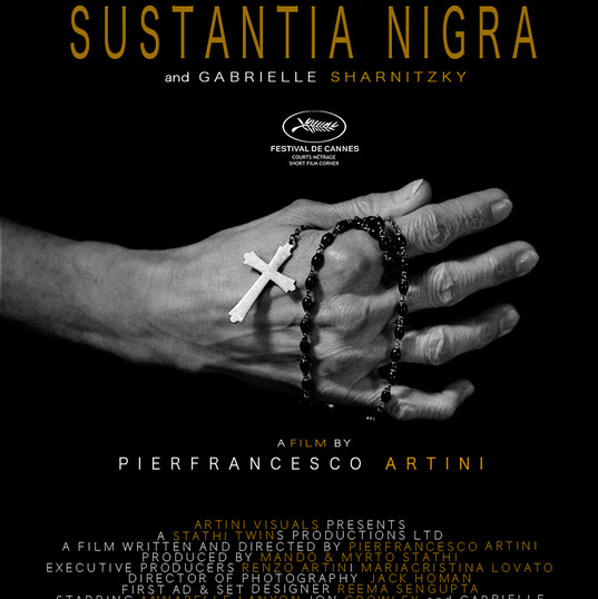 SUBSTANTIA NIGRA - official poster .jp