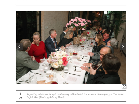 PaperCity highlights John Friedman Flowers front and center!