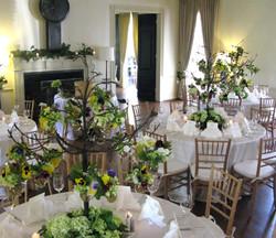 Wedding Reception Bayou Club #1