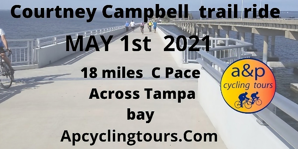 Courtney Campbell Trail Ride Tampa