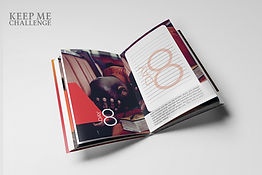 KMC - Keep Me Challenge - Mockup Book Op