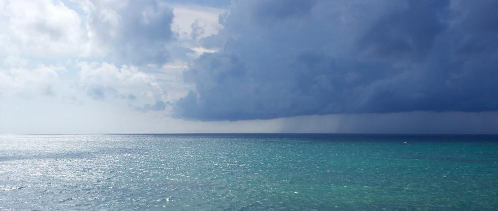 Storm in Tulum, Quintana Roo (Photo: Lynette Haro)