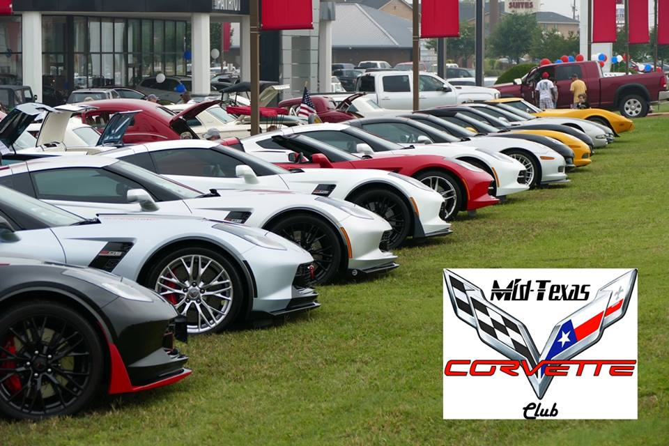 Mid Texas Corvette Club Cars