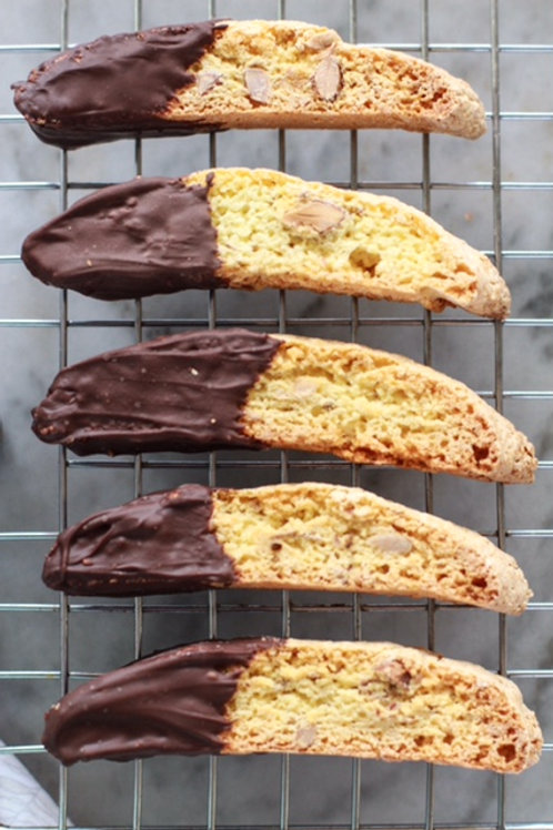 Cinnamon Chocolate Biscotti