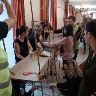 Le grand projet : Le pont Touraine Team Building