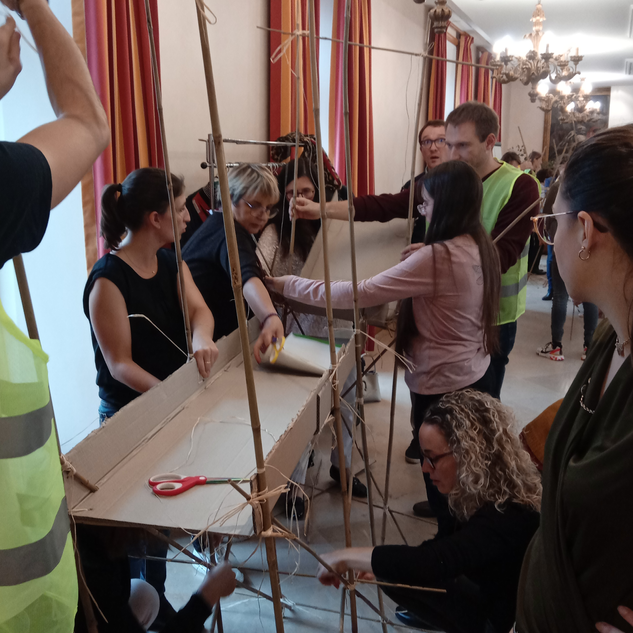 Le grand projet : Le pont Touraine Team Building
