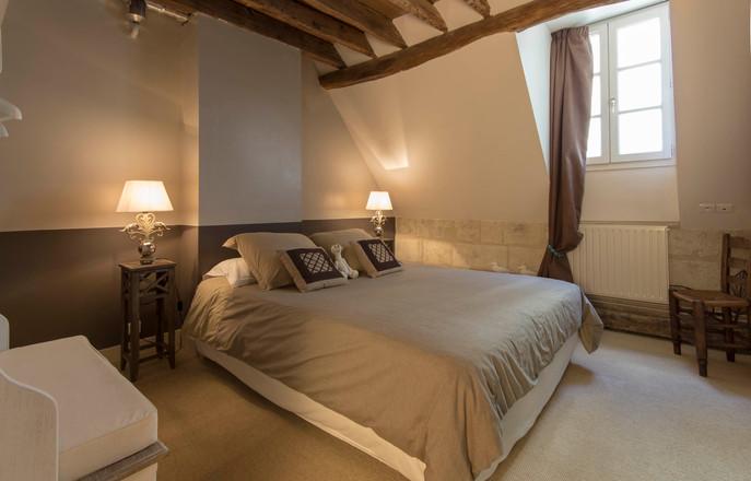 Chambord Location rental AmboiseBedroom1