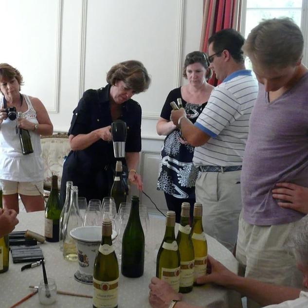 Touraine Team Building assemblage d'un vin