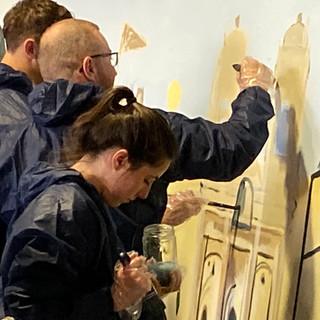 La grande fresque Touraine Team Building