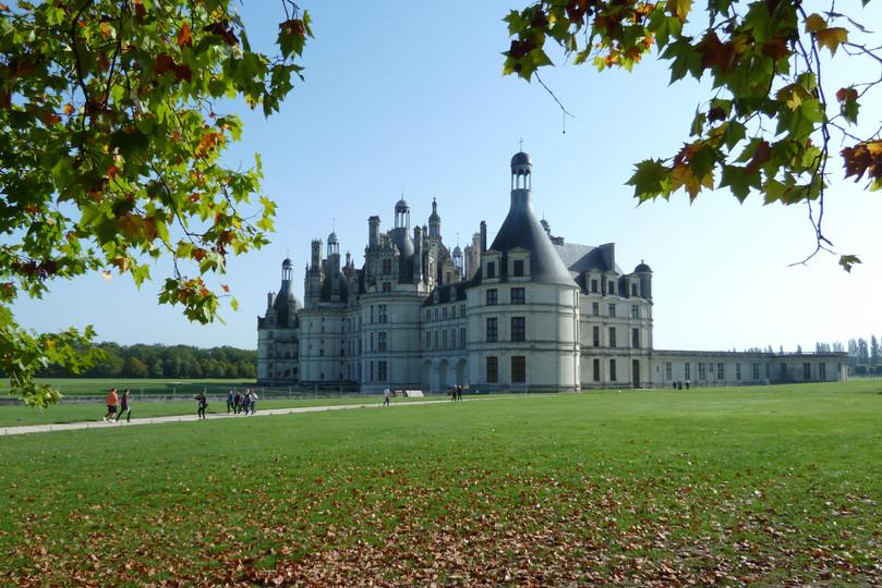 Château_de_Chambord_au_début_de_l'automn