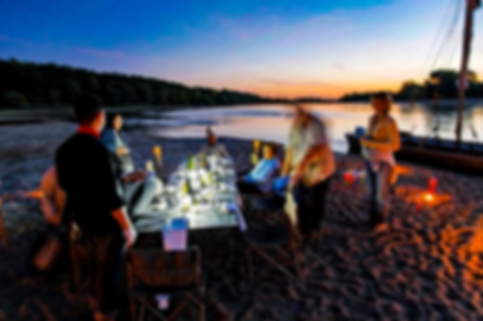 Animation repas en bord de Loire