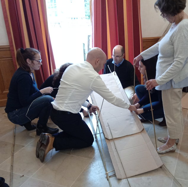 Animation construction Touraine Team Building